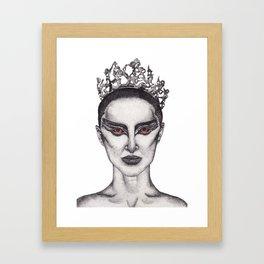 Natalie Portman - Black Swan Framed Art Print