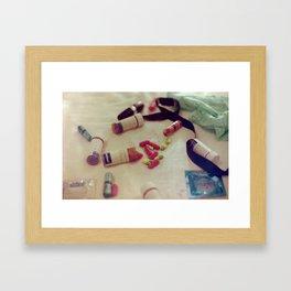 teenaged Framed Art Print