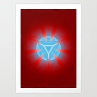 ironman Art Prints featuring Ironman by Some_Designs