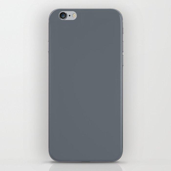 Pebble Gray iPhone Skin