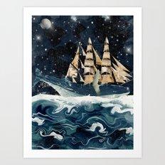 setting sails Art Print