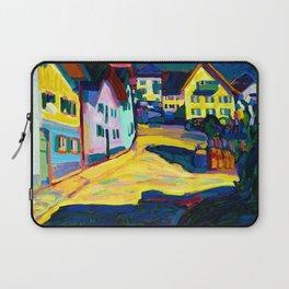 Wassily Kandinsky Houses in Murnau II Laptop Sleeve