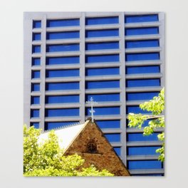 Blessing the Skyscrapers Canvas Print