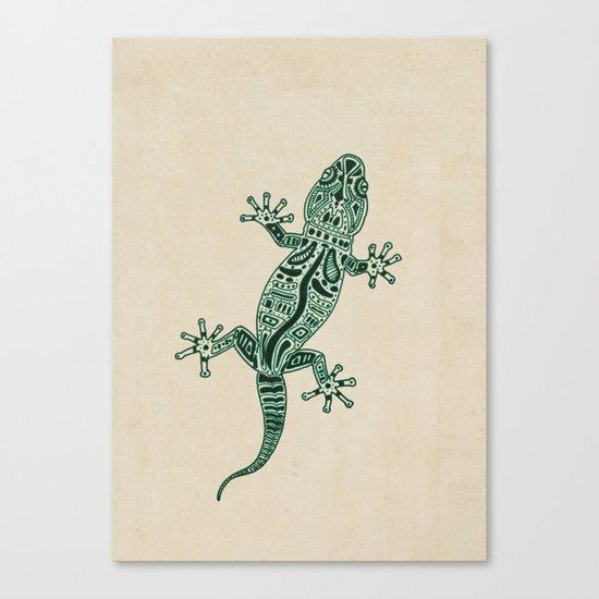Ornate Lizard Canvas Print