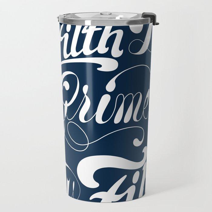 Grimey Type. Travel Mug
