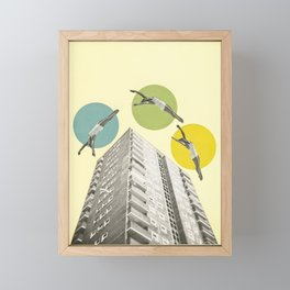 High Flyers Framed Mini Art Print