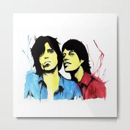 Keith & Mick Metal Print