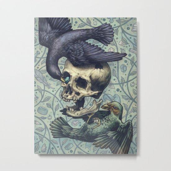 Bowerbirds Metal Print