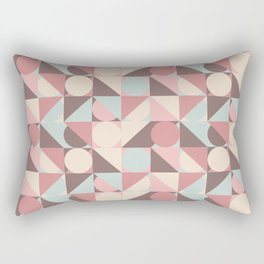Circles, and Squares, and Triangles! Oh, My! Rectangular Pillow