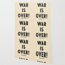 War is over, if you want it, peace message, vintage illustration, anti-war, Happy Xmas, song quote Wallpaper