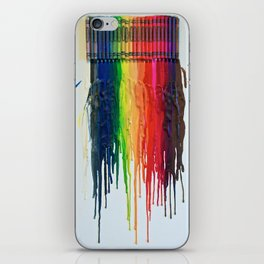 Melted Rainbow iPhone Skin