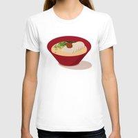 ramen T-shirts featuring Ramen (Akamaru Chashu) by Hello Fever