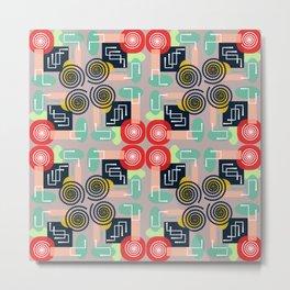 Decorative geometry Metal Print
