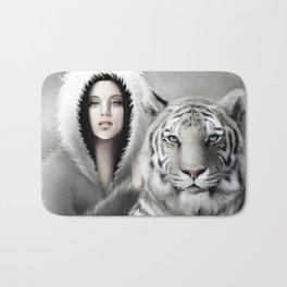 Tigre Blanc Bath Mat