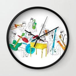 NOLA Jazz Fest 2011 Wall Clock