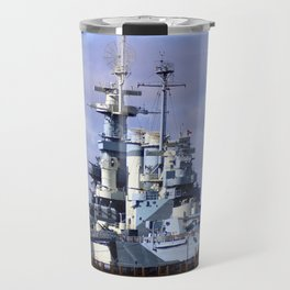 USS North Carolina BB-55 Travel Mug