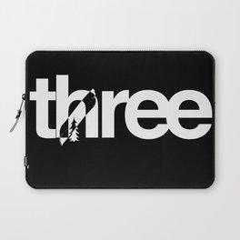 Tree, Not Three  Laptop Sleeve