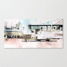 High Contrast Canvas Print
