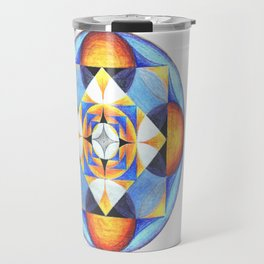 Solar Kaleidoscope (ANALOG zine) Travel Mug