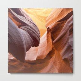 Antelope Canyon, United States Metal Print