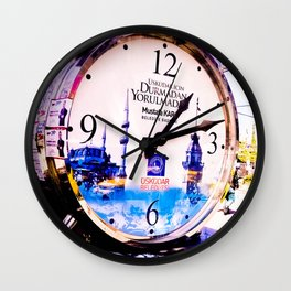 Watch marques not hours. Wall Clock