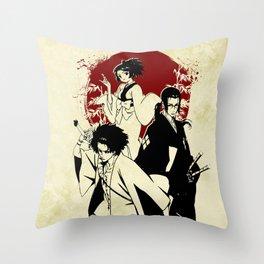 Samurai champloo Throw Pillow