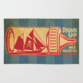 Drink Up Me Heart Rug
