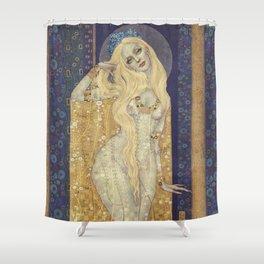 Golden Gown Shower Curtain
