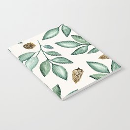 LEAVES AND PINEAPPLES Notebook