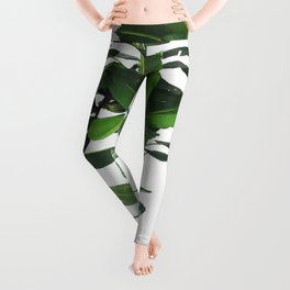 TROPICAL GREEN1 Leggings
