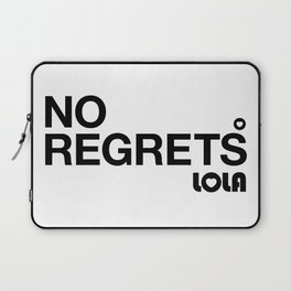 No Regrets Laptop Sleeve