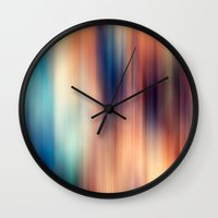 blur Wall Clocks featuring Blur by ALT + CO