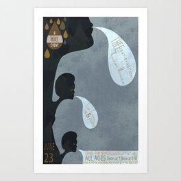 THEEsatisfaction Poster Art Print