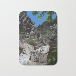 Steps From the Window Hike in Big Bend Bath Mat