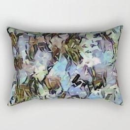 Abstract Confetti Landscape Rectangular Pillow