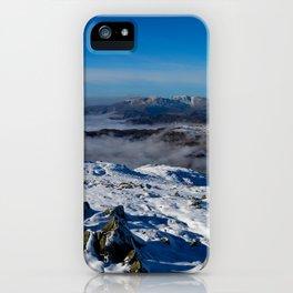 Winter on the Fairfield Horseshoe iPhone Case