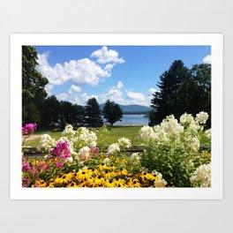 Pleasant Lake Art Print