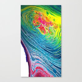 POUR ART 7 ROTATION Canvas Print