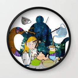 alice #3 Wall Clock