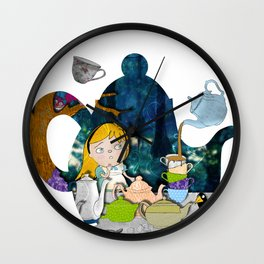 alice #3 Wall Clock
