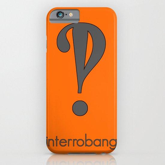 Interrobang, Serif iPhone & iPod Case