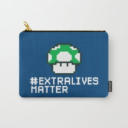 #Extra Lives Matter Carry-All Pouch