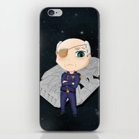 battlestar iPhone & iPod Skins featuring Colonel Tigh 2 | Battlestar Galactica by The Minecrafteers