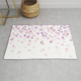 Pluvia // Pink and Purple // Rain Rug