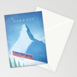 Ski Zermatt Stationery Cards