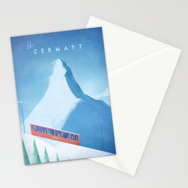 Ski Zermatt Stationery Cards