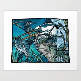 The Chesapeake Bay Blues Art Print