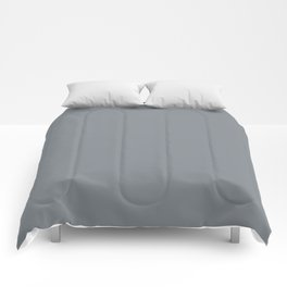 #82898f Comforters
