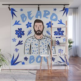 Beard Boy: Karl Wall Mural