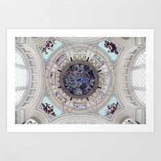 Spanish Ceiling Art Print